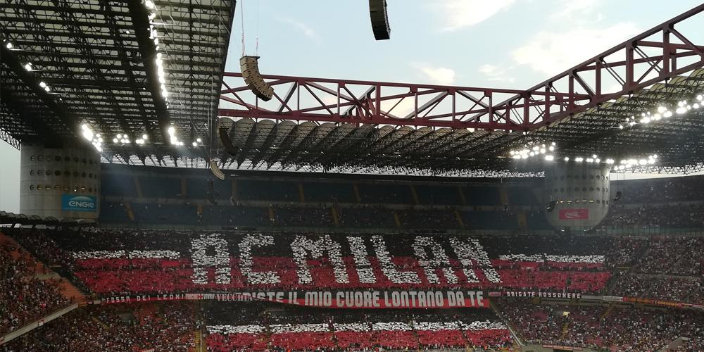 Pubblicità allo stadio di Milano? Copri tutta Italia